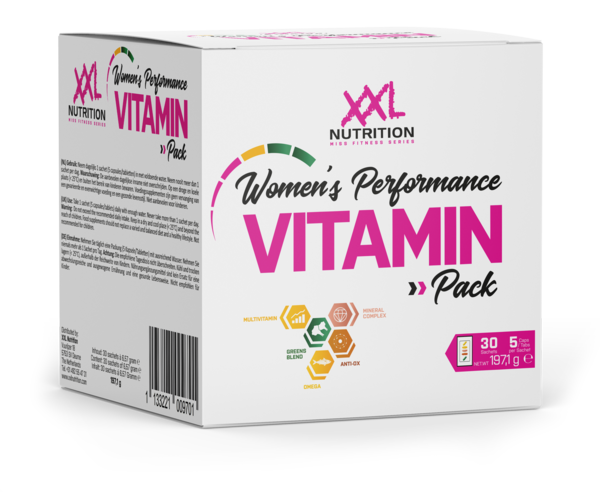 Womens Performance Vitamin Pack XXL Nutrition 30 Sachets